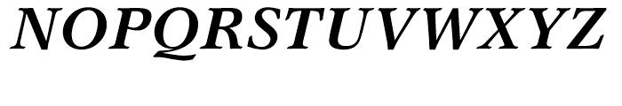 Garth Graphic Bold Italic Font UPPERCASE