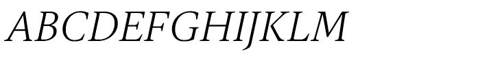 Gauthier FY Italic Font UPPERCASE