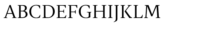 Gauthier FY Regular Font UPPERCASE