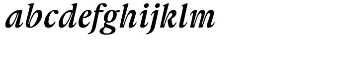 Gauthier Next FY Bold Italic Font LOWERCASE