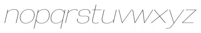 Galderglynn Esquire UltraLight Italic Font LOWERCASE
