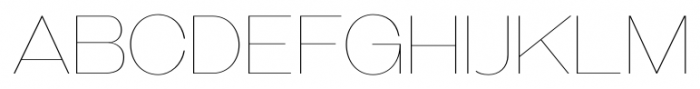Galderglynn Esquire UltraLight Font UPPERCASE