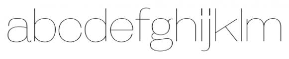 Galderglynn Esquire UltraLight Font LOWERCASE