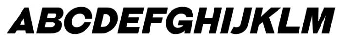 Galderglynn Titling Black Italic Font UPPERCASE