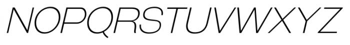 Galderglynn Titling Extra Light Italic Font UPPERCASE