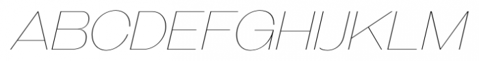 Galderglynn Titling Ultra Light Italic Font UPPERCASE