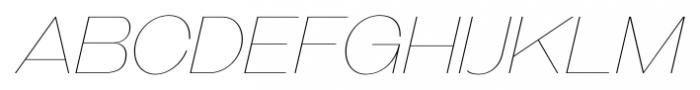 Galderglynn Titling Ultra Light Italic Font LOWERCASE