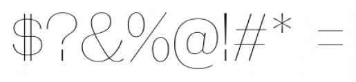 Galderglynn Titling Ultra Light Font OTHER CHARS