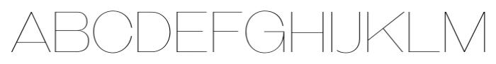 Galderglynn Titling Ultra Light Font UPPERCASE