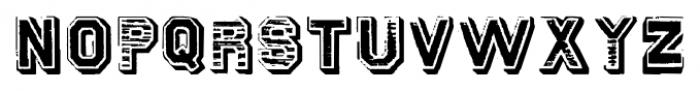 GansTitularAdornadaVersalete Regular Font UPPERCASE