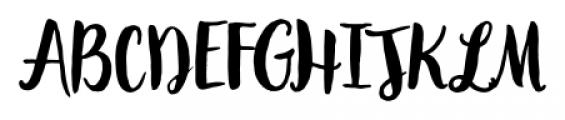 Garden Grown Regular Font UPPERCASE