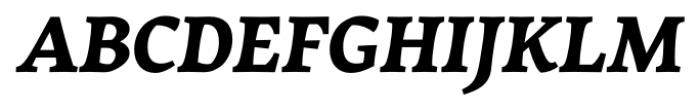 Garibaldi Black Italic Font UPPERCASE