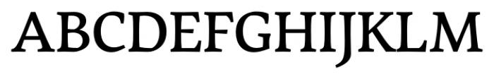 Garibaldi Medium Font UPPERCASE