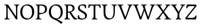 Garibaldi Regular Font UPPERCASE