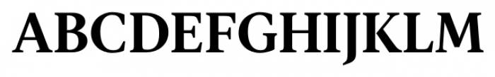 Gauthier FY Bold Font UPPERCASE