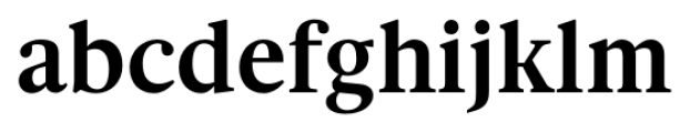 Gauthier FY Bold Font LOWERCASE