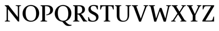 Gauthier FY Medium Font UPPERCASE