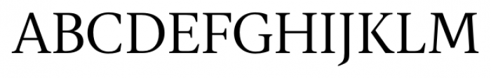 Gauthier FY Regular Font UPPERCASE
