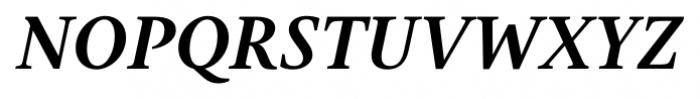 Gauthier Next FY Bold Italic Font UPPERCASE