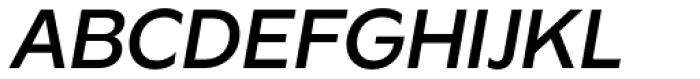 Gaba Medium Italic Font UPPERCASE