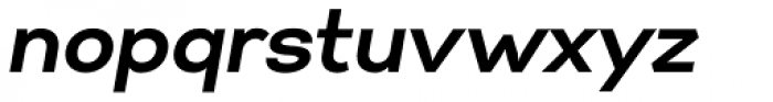 Gabriel Sans Bold Italic Font LOWERCASE