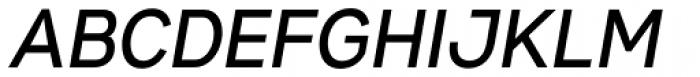 Gabriel Sans Condensed Medium Italic Font UPPERCASE
