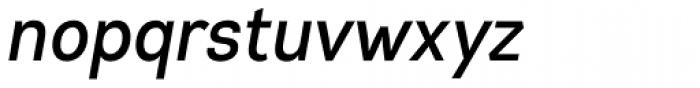 Gabriel Sans Condensed Medium Italic Font LOWERCASE