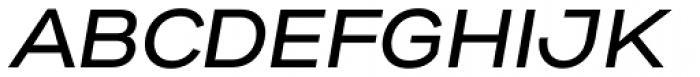 Gabriel Sans Medium Italic Font UPPERCASE