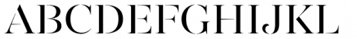 Gabriela Stencil Regular Font UPPERCASE