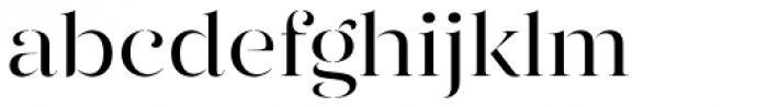 Gabriela Stencil Regular Font LOWERCASE