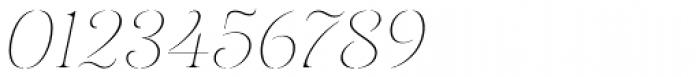 Gabriela Stencil Thin It Font OTHER CHARS