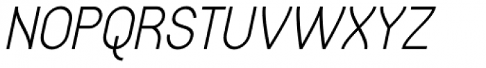 Gaden Sans Italic Font UPPERCASE
