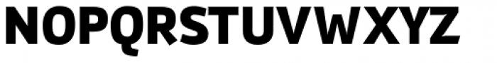 Gafata Black Font UPPERCASE