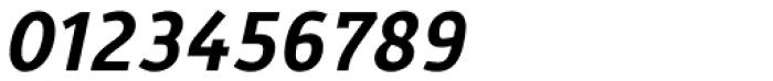 Gafata Bold Italic Font OTHER CHARS