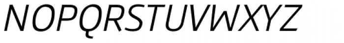 Gafata Book Italic Font UPPERCASE