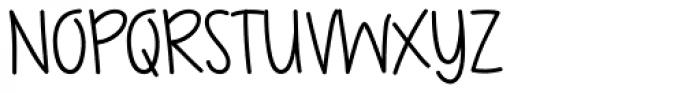 Gaffer Font UPPERCASE