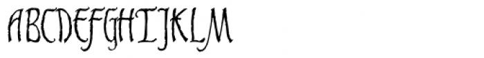 Gaiseric Font UPPERCASE