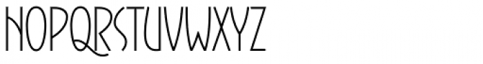 Gaisma Latin Font UPPERCASE