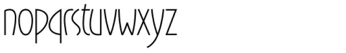 Gaisma Font LOWERCASE