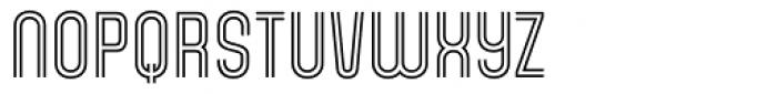 Gala Biline Font UPPERCASE
