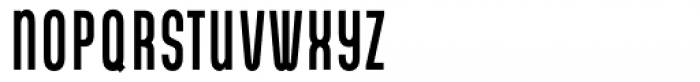 Gala Condensed Bold Font LOWERCASE