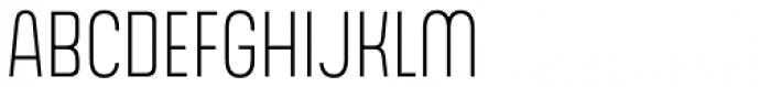 Gala Light Font UPPERCASE