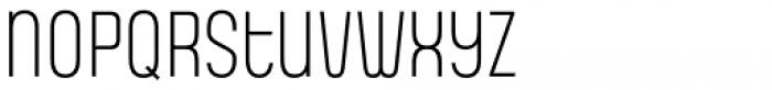 Gala Light Font LOWERCASE