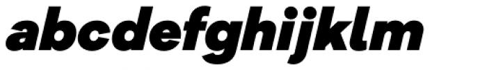 Galano Grotesque Alt Black Italic Font LOWERCASE