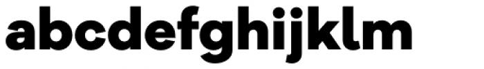Galano Grotesque Alt Extra Bold Font LOWERCASE
