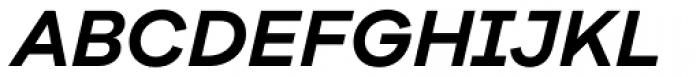 Galano Grotesque Alt Semi Bold Italic Font UPPERCASE