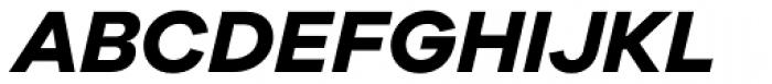Galano Grotesque Bold Italic Font UPPERCASE