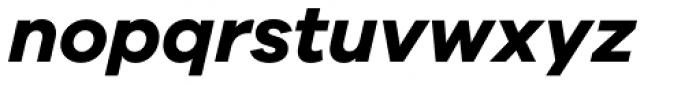 Galano Grotesque Bold Italic Font LOWERCASE