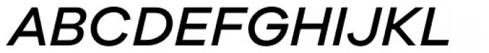 Galano Grotesque Medium Italic Font UPPERCASE
