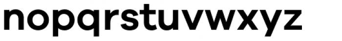 Galano Grotesque Semi Bold Font LOWERCASE